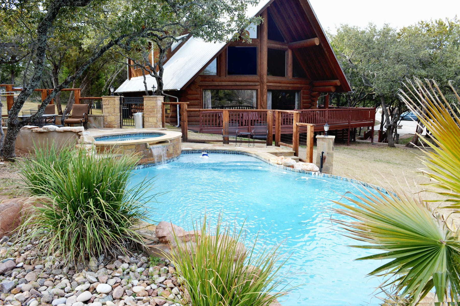 Log Cabin Rentals In Texas Texas Hill Country Cabin Rentals